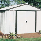 Arrow Sheds - Arrow Arlington 10x8-foot Steel Storage Shed - The Arrow Arlington 10x8-foot Storage Shed is the perfect storage solution. This storage shed features an Electro Galvanized steel construction for superb corrosion resistance.