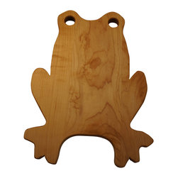 Martin Cart's - Frog Cutting Board - Made with Rock Hard Maple Planks