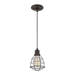 Savoy House - Savoy House Vintage Pendant Lighting Fixture - Shown in picture: Vintage Mini Pendant in English Bronze Finish