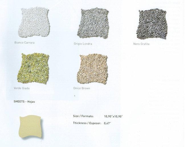 Contemporary Floor Tiles by DM Decos by Design, Inc.