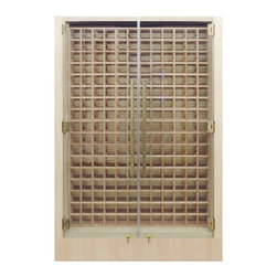 Custom Wine Cabinet by Vinotemp - We've been building custom wine cabinets for nearly 30 years! Call us today at 1.800.777.VINO or email info@vinotemp.com to  start your own custom project or visit us online at www.Vinotemp.com.