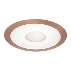 """Juno Lighting - Juno 242 6"""" Frosted Lens Trim with Clear Center, 242-Abz - 6"""" Frosted Lens Trim with Clear Center for use with selected Juno housings."""