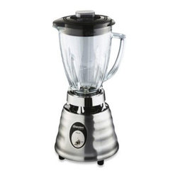 Oster - Oster Beehive Blender - The Beehive Blender from Oster has a classic toggle switch which controls two blending speeds and features 600 watts of power. It's got every blending task covered, from frozen drinks to dips, from sauces to smoothies, from soup to nuts.