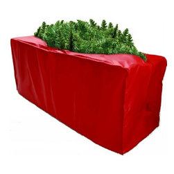 Innovative Home Creations - Christmas Tree Storage Bag - Red - This storage bag is ideal for storing your Christmas tree to keep away the dust and insects