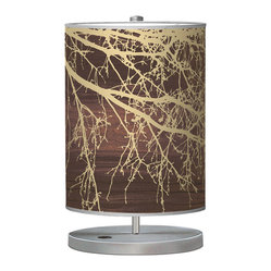 Branch 1 Cylinder Table Lamp