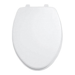 American Standard - Rise and Shine Elongated Open Front Toilet Seat in Bone - American Standard 5325.024.021 Rise and Shine Elongated Open Front Toilet Seat in Bone.