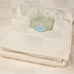 American Baby Company Organic Cotton Sweater Knit Blanket - Swaddle your precious little love in this American Baby Company Organic Cotton Sweater Knit Blanket. The neutral tone of the blanket is natural and free from harmful bleach and dyes that will potentially irritate your baby's sensitive skin. This soft blanket measures 30 x 40 inches and features a textured, checker-print pattern.American Baby Company, Inc. is a leading U.S. manufacturer of baby bedding that emphasizes high-quality comfort and safety. They are a leader in the industry at providing fast delivery of premium-quality products at reasonable prices.