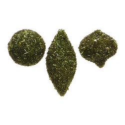 Silk Plants Direct - Silk Plants Direct Sequin and Bead Ornament (Pack of 6) - Pack of 6. Silk Plants Direct specializes in manufacturing, design and supply of the most life-like, premium quality artificial plants, trees, flowers, arrangements, topiaries and containers for home, office and commercial use. Our Sequin and Bead Ornament includes the following: