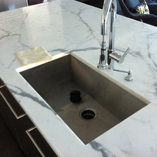 Contemporary Kitchen Countertops by Crystal Tile and Marble