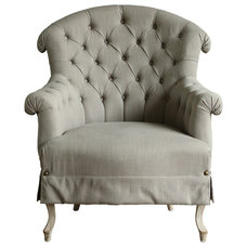 Farmhouse Armchairs And Accent Chairs by Kathy Kuo Home