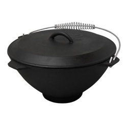 METAL FUSION - 2.75 Qt Dutch Oven with Lid - Great for use at the campsite or in the kitchen