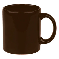 Waechtersbach - Set of 4 Mugs Fun Factory Chocolate - Make mornings lively with these Fun Factory Chocolate Brown Mugs. Available in a variety of bold hues, these classic ceramic mugs with easy-grip handle are a must-have for hot beverages.
