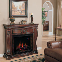 Fireplace Mantels - The Lexington by ClassicFlame. Gorgeous mantel with an electric fireplace