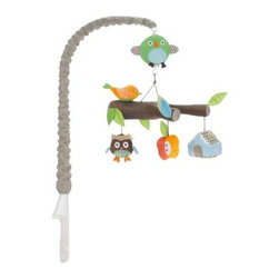 Skip Hop Crib Mobile Treetop Friends - I think this sweet mobile will make baby smile. The colors are so cheerful.