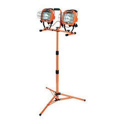 Halogen Twin Head Tripod Light 1000w