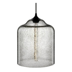 Niche Modern - Bell Jar Modern Pendant - Inspired by bell jars of old, originally used to display a treasured object, this new interpretation captures incandescence. Hang this glass fixture to bring a wide, glorious beam of light to your favorite setting.