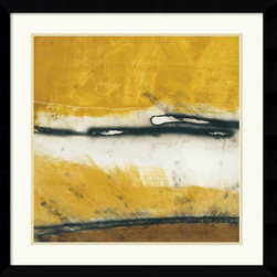Amanti Art - Venture I Framed Print by Niro Vasali - Although he makes his home in the United States, Niro Vasali has always felt a strong connection to his Italian roots. With bold shapes, shadows and colors, Niro's refined abstracts reflect his passion for making a dramatic statement.