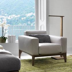 Porada installations - Contemporary living & dining room -