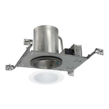 Juno Lighting Group - 5-inch Recessed LED Lighting Kit with White Trim - IC20LED-G3-2700K/205W-WH KIT - Enjoy the appearance of a conventional incandescent fixture with the energy saving benefits of LEDs. This recessed kit provides a light that is similar to a 65-watt BR30 bulb while using only 14 watts of energy at 3000 Kelvin which produces a warm white light. The low wattage combined with an average lifespan of 50,000 hours will provide you with savings year after year on your energy bill. The white baffle trim has an aperture of 5-3/4-inch and a white trim ring. The grooved interior helps to absorb extra light while providing a crisp appearance that blends easily into the ceiling. Takes (1) 14-watt LED bulb(s). Bulb(s) included. Dry location rated.
