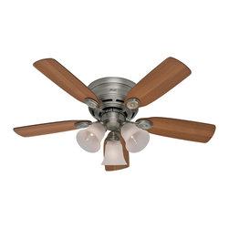 """Hunter Fan Company - Hunter Fan Company 23857 Low Profile Plus Pewter 42"""" Ceiling Fan - Hunter Fan Company 23857 Low Profile Plus Antique Pewter 42"""" Ceiling Fan"""