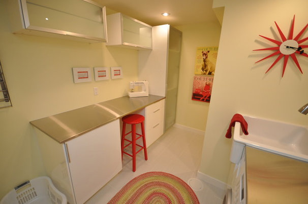 Double-Duty Savvy: 10 Supersmart Laundry Room Combos
