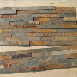 stonekevinfeng - natural rusty slate wall stack tiles