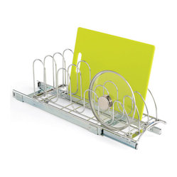 Chrome Roll-Out Lid Holder