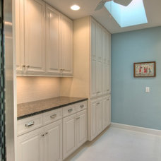 Traditional Laundry Room by Chic on the Cheap