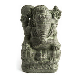 Repose Home - Humble Ganesha - Ganesha is known as the remover of obstacles and master of new beginnings. His iconic elephant head symbolizes wisdom and understanding. Place Ganesha's powerful presence anywhere in your home to bring success to your endeavors.