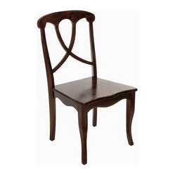Great Deal Furniture - Folkner Dining Chair - You don't have to live on a farm to enjoy country living. This dining chair delivers country style directly to your dinner table with its charming style and design. Just add a table, eggs, bacon — and you're set.