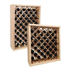 Vintner Series Wine Rack - Individual Diamond Bin Wine Rack