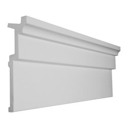 "CCM - 48 Ft Of 8"" Style 8 Foam Crown Molding 8' W / Precut Corners - THIS IS A KIT - 48 feet of crown molding. 95.5"" lengths."