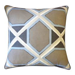 Jiti - Jiti Pascado Pillow - Expressive colors, dynamic patterns and diverse materials in conjunction with clean, modern design - this is Jiti.