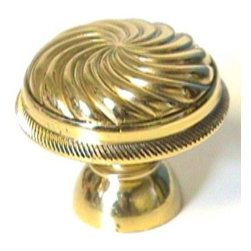 LB Brass | 1233 | POLISHED BRASS | Cabinet Hardware -