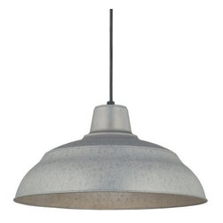 "Millennium Lighting - Millennium Lighting RWHC17 R Series 1 Light 17"" Wide Warehouse Pendant - Features:"