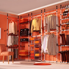 Modern Closet Organizers by Tszuji - Storage for Life
