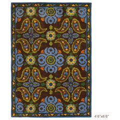 mediterranean rugs by Layla Grayce