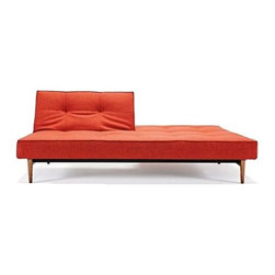 Innovation USA - Innovation USA | Splitback Deluxe Wood Base Sofa - Design by Per Weiss, 2012.
