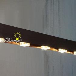 LOFT Stain Steel LED Chandelier - LOFT Stain Steel LED Chandelier