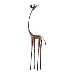 Joshua Marshal - Short Giraffe Hand Applied Multi Color Finish - Short Giraffe Hand Applied Multi Color Finish