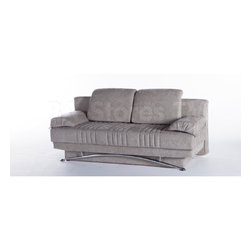 Fantasy Modern Sofa Sleeper in Valencia Gray -