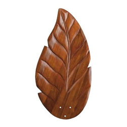Kichler - Kichler 371020 Climates Wood Blade Set 371020 - Climates Wood Blade Set.Bulb Included: No Country of Origin: China Energy Efficient: No Fan Blade Finish: Cherry Stain Fan Light Kit Included: No Finish: Walnut Height: 10-1 2 Length: 21-3 4 Material: Wood Weight: 4 Width: 8-1 2