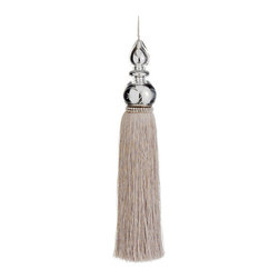 Silk Plants Direct - Silk Plants Direct Jewel Mercury Glass-Top Tassel Ornaments, Pack of 2 - Pack of 2. Silk Plants Direct specializes in manufacturing, design and supply of the most life-like, premium quality artificial plants, trees, flowers, arrangements, topiaries and containers for home, office and commercial use. Our Jewel Mercury Glass Top Tassel Ornament includes the following: