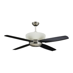 Yosemite Home Decor - 52 Inch Ceiling Fan in Brushed Nickel - Features: