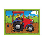 "The Original Toy Company - The Original Toy Company Kids Children Play Farm Four in a Box - Use these bright puzzles of favorite farm pictures and begin to count. Puzzle size- 8.25""x 6"" Ages 3 years plus. 4,6,8 & 12 pieces. Made in England."