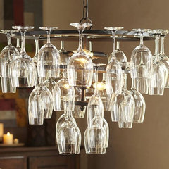 modern chandeliers by Pottery Barn