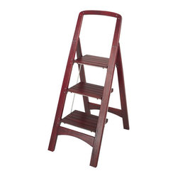 Cosco - Cosco 3 Step Wooden Rockford Step Stool - 11255MGY1 - Shop for Stepstool from Hayneedle.com! About Cosco Home and OfficeCosco was founded in 1935 as the Columbus specialty company with the invention of a tin matchbox that dispensed new matches while providing a place for used ones. Over 70 years later its experience has increased its ability to produce and market new and innovative products while maintaining a strong classic line. Never satisfied Cosco continues to produce new and stylish designs while bringing them to market faster and more efficiently. As it focuses on the future Cosco Home and Office products will continue to lead the industry by listening to its valued customers while incorporating innovative concepts into quality-driven value-added products.