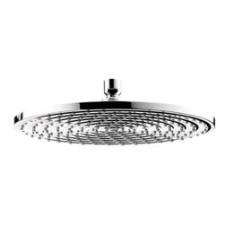 Hansgrohe - Hansgrohe - Raindance 12 Inch Showerhead - 27493001 - Chrome - The air-injection technology of the Raindance 300 Single Spray 12 in. AIR Showerhead in Chrome combines standard water with the vitality of air. Each drop of water is infused with air, for an invigorating high-performance shower. Enjoy a soothing rain shower, cascading down onto your head and shoulders - Raindance showerheads envelop your body in a wonderful cloak of water for an ultimate shower experience.