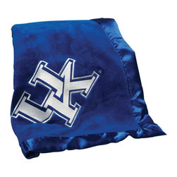 Collegiate Delight - University of Kentucky Blanket - Let your school spirit show with these officially licensed collegiate baby blankets. These embroidered coral fleece blankets with matching satin trim are super soft to the touch and perfect for your future graduates and athletes.