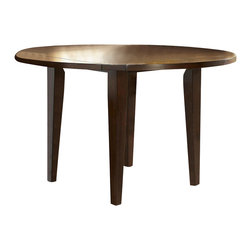Homelegance - Ameillia Round Counter Height Table - Blending the clean lines of Arts and Crafts with functional movement, the Ameillia Collection is a solid addition to your casual dining space.